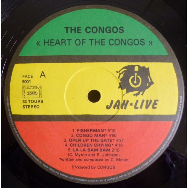 heart of the congos vinyl
