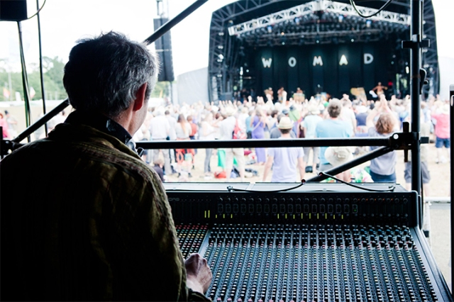 Nick at WOMAD